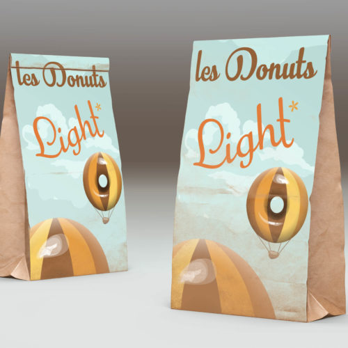 donuts packaging